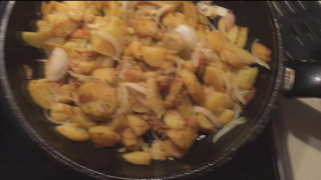 Fertige Bratkartoffeln