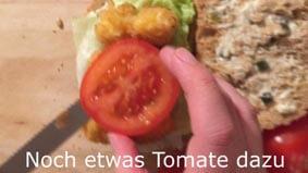 Gerne noch ein-zwei Scheiben Tomate dazu