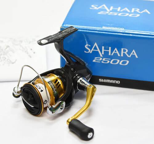Angelrolle fürs Heringsangeln Shimano SAHARA 2500 Spinning Reel