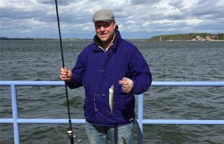 Erfolgreich auf Hering angeln vom Ufer aus