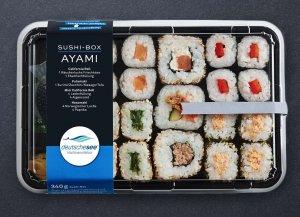 🛒 Sushi-Box Ayami<br>ℹ️ Online kaufen auf dorsch-guide.de