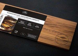 🛒 Zedernholzbrett zum Grillen<br>ℹ️ Online kaufen auf dorsch-guide.de