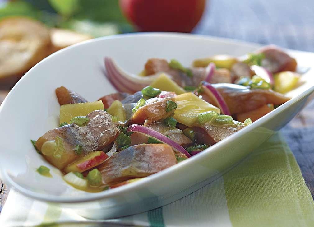 🛒 Matjessalat Apfelvinaigretteℹ️ Online kaufen auf dorsch-guide.de