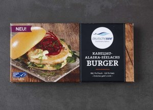 🛒 Kabeljau Alaska Seelachs Burger<br>ℹ️ Online kaufen auf dorsch-guide.de