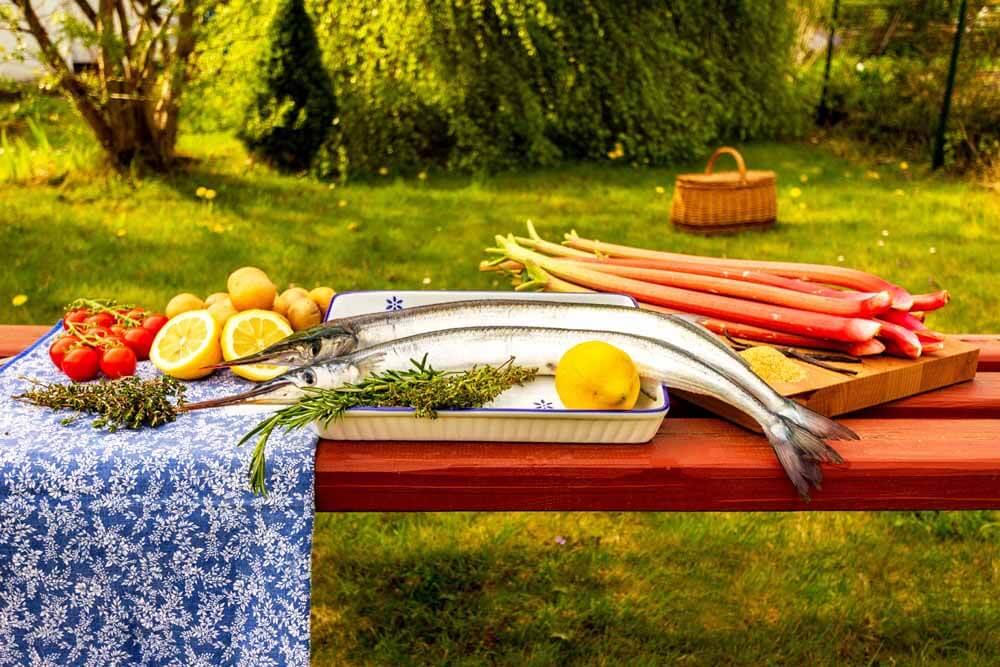 Alle Bestandteile der Kochbox kommen kühl temperiert aus dem Paket direkt auf den Tisch
