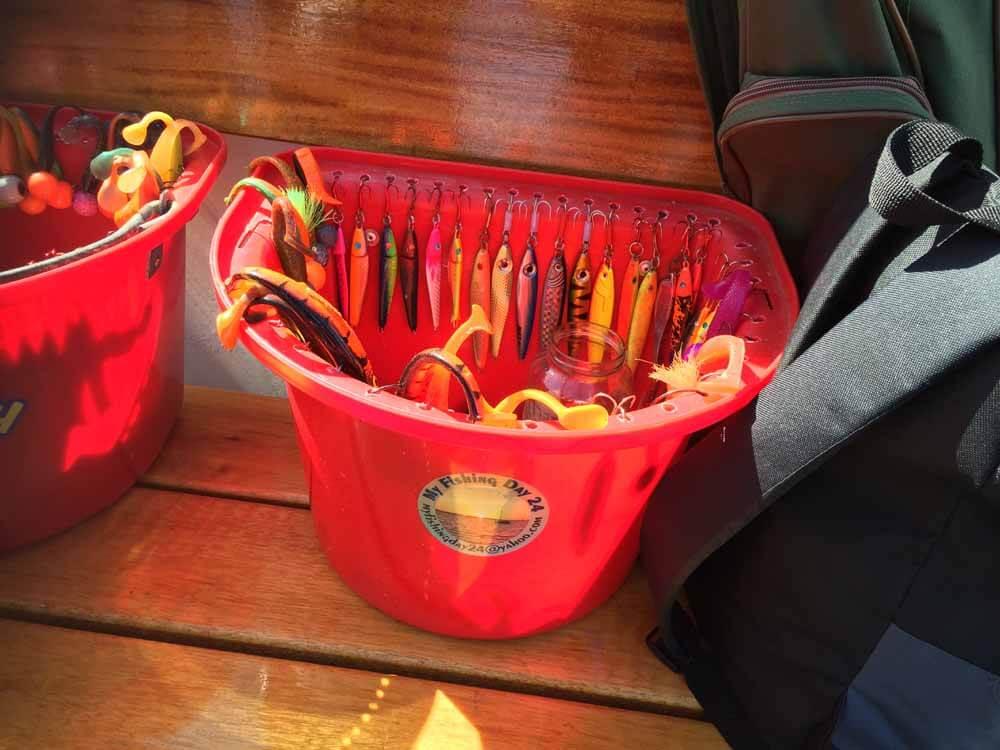 Pilker, Gummifische und Twister waren die meist verwendeten Angelköder beim Dorschangeln