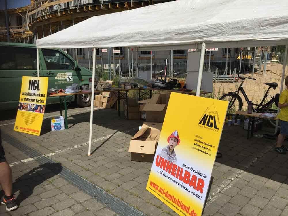 Nach dem Angeln besuchten wir die Infostände des NCL-Vereins im Hafen von Wismar