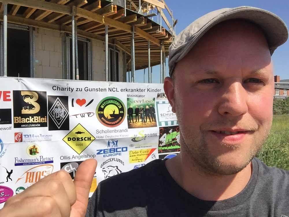 Viele namenhafte Sponsoren unterstützten die Charity-Aktion - so auch Philipp von Dorsch-Guide.de